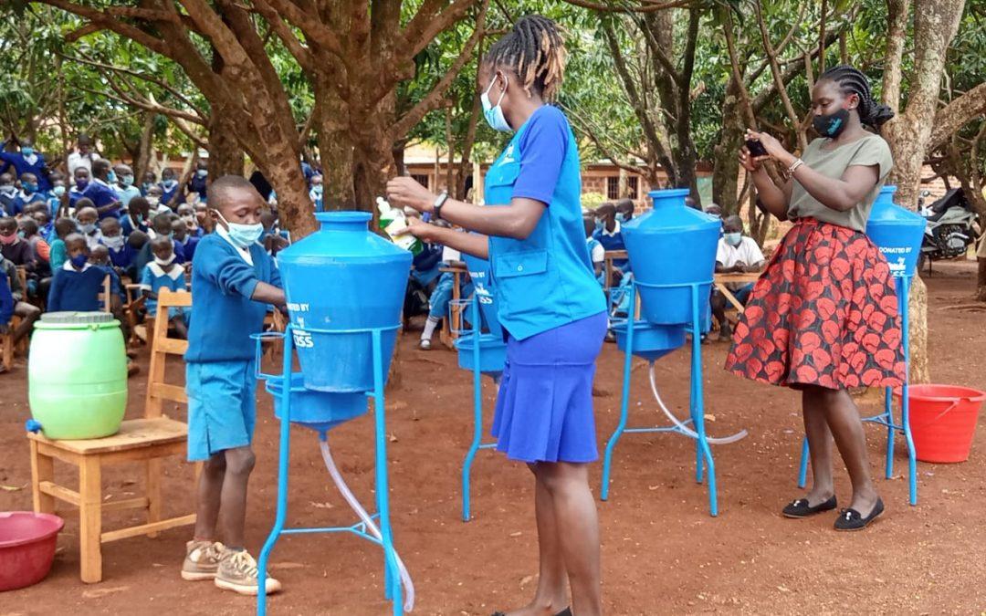Launch: Hand-washing Kit Distribution – Alego